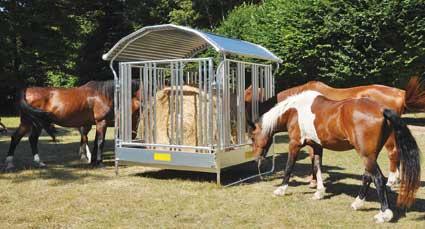 Ruokintakatos hevosille